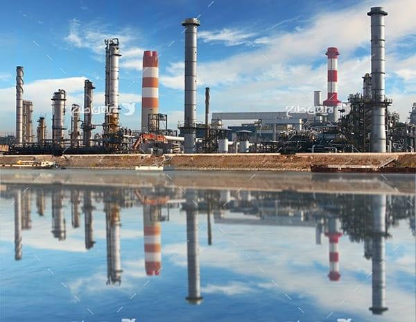 تصویر صنعتی از شرکت پتروشیمی