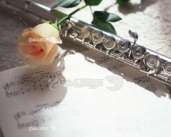 تصویر موسیقی فلوت