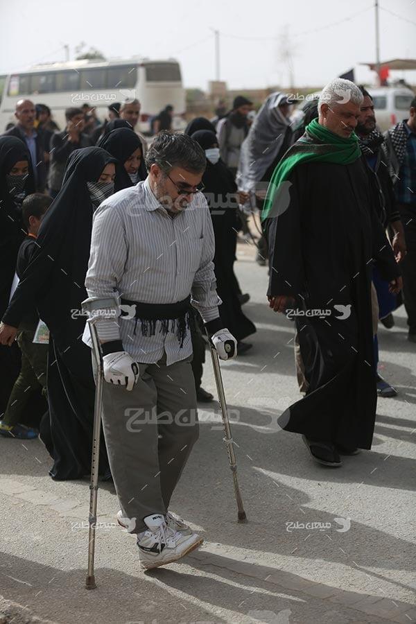 عکس پیاده روی اربعین