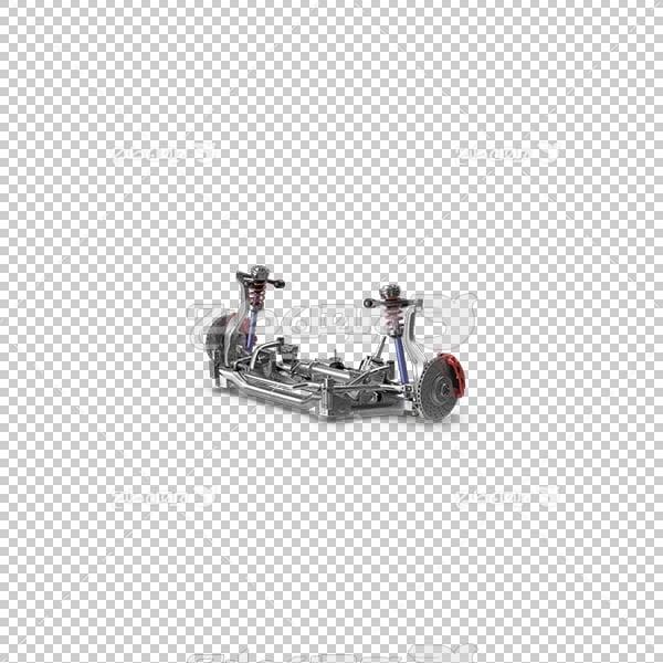 تصویر سه بعدی دوربری جلوبندی ماشین