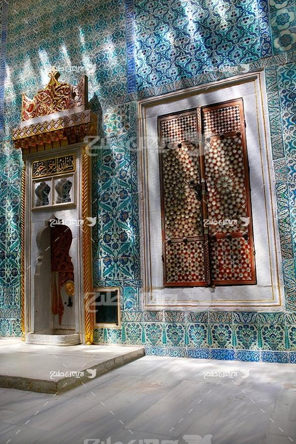 عکس ورودی مسجد