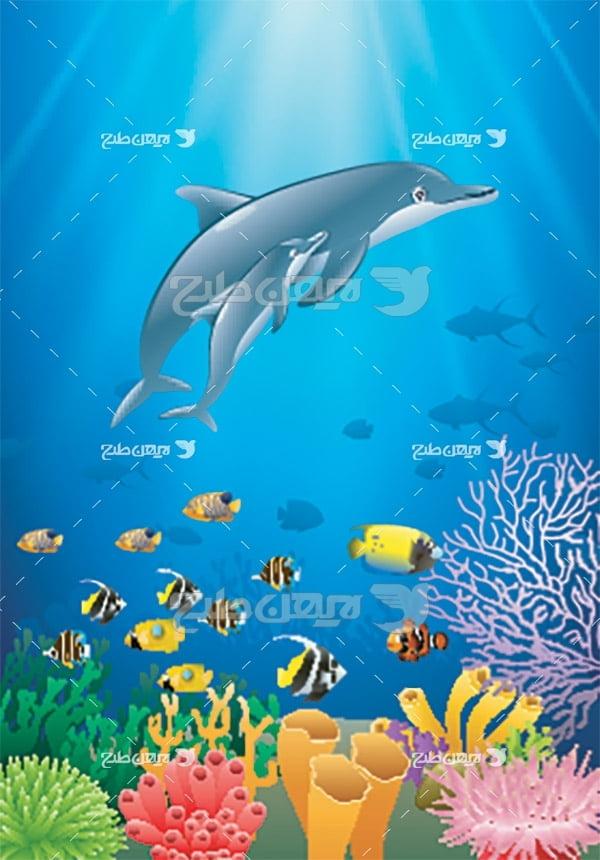 وکتور دلفین