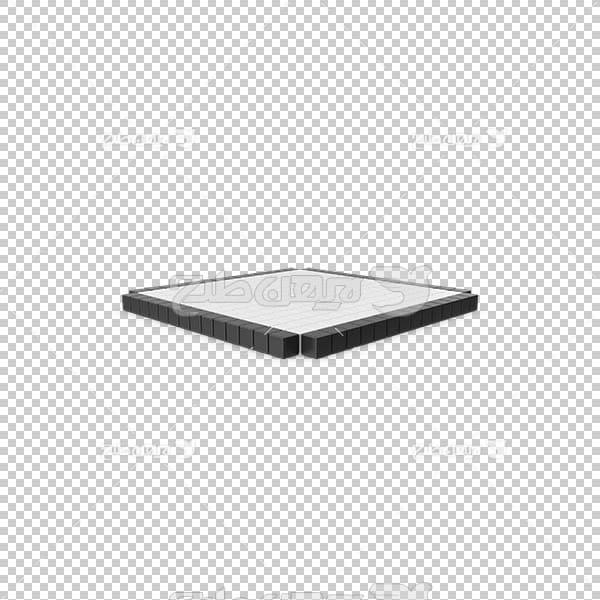 تصویر سه بعدی دوربری دکمه پخش