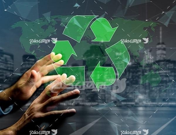تصویر دست و بازیافت