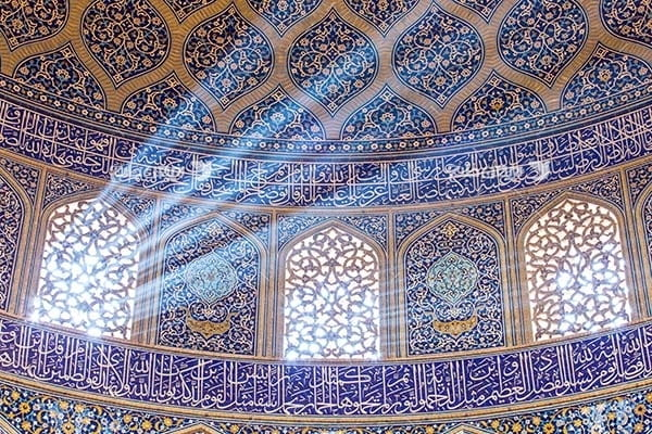 تصویر داخلی مسجد نصیر الملک