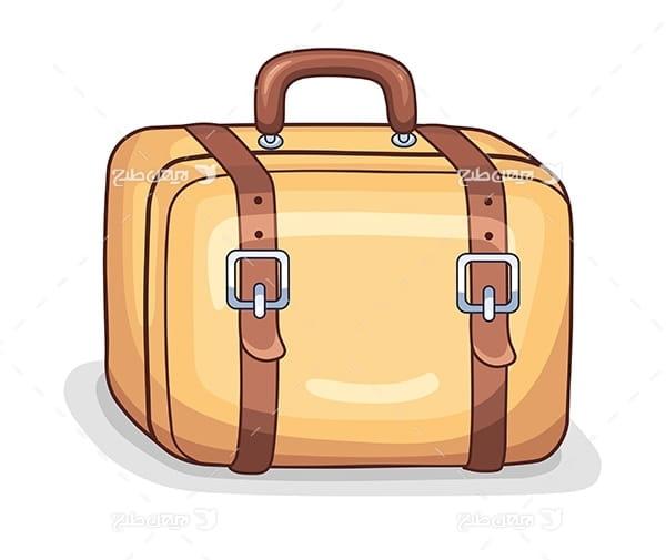 وکتور چمدان