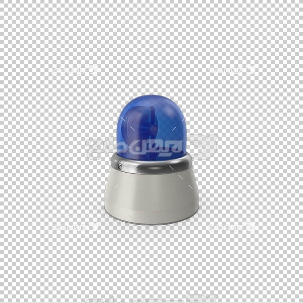 تصویر سه بعدی دوربری آژیر آبی