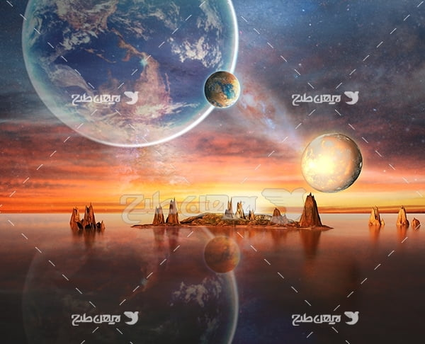 عکس از سیاره فضایی