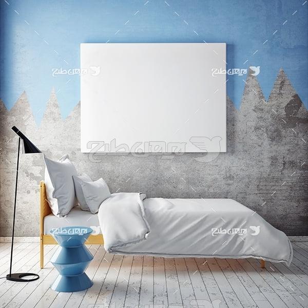 عکس تخت خواب