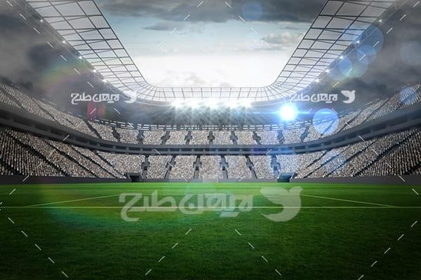 عکس استادیوم فوتبال