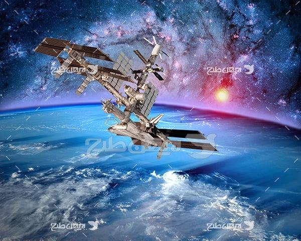 عکس فضانوردی