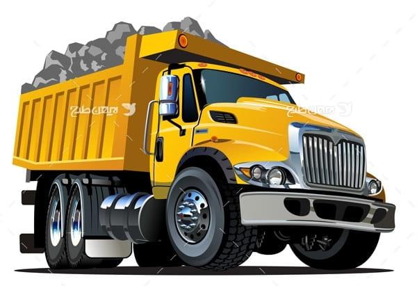 وکتور کامیون
