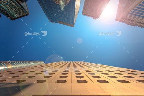 عکس ساختمان بلند