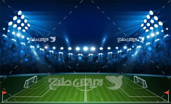 وکتور زمین فوتبال