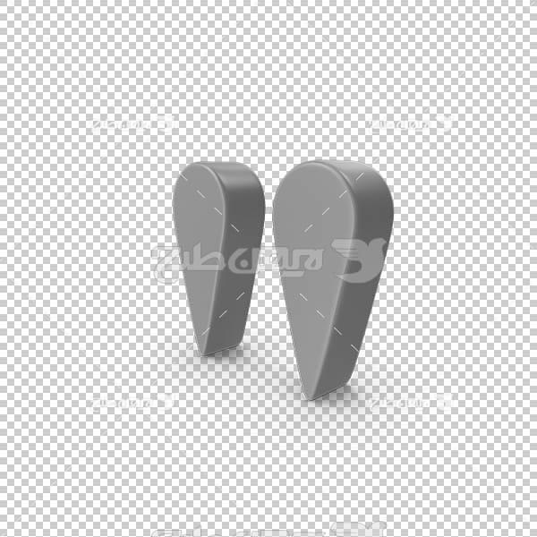 تصویر سه بعدی دوربری علائم نوشتاری