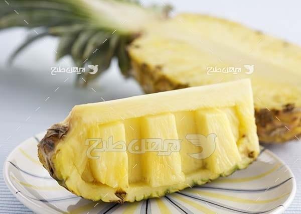 عکس میوه آناناس