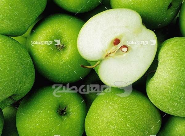 عکس میوه سیب