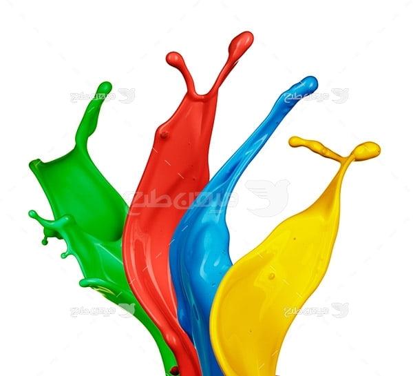 عکس نماد رنگ چاپ و تبلیغات