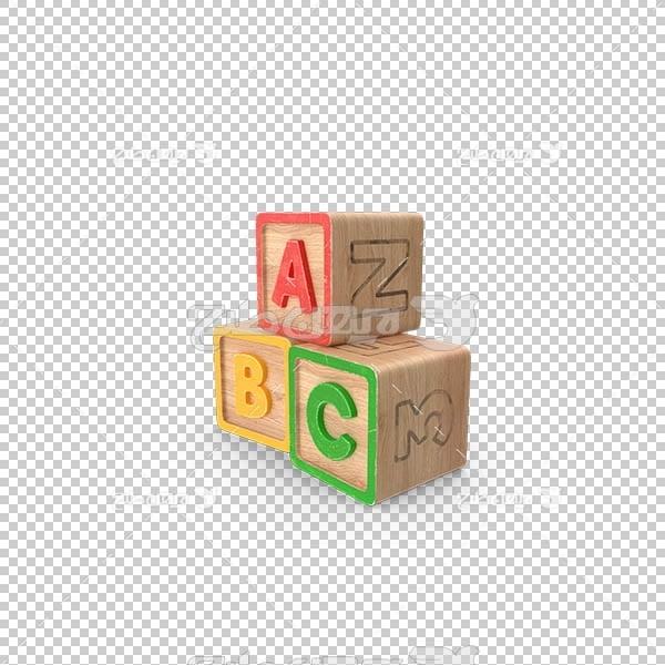 تصویر سه بعدی دوربری مکعب های رنگی