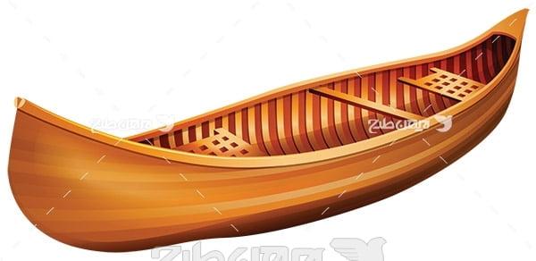 وکتور قایق بادی