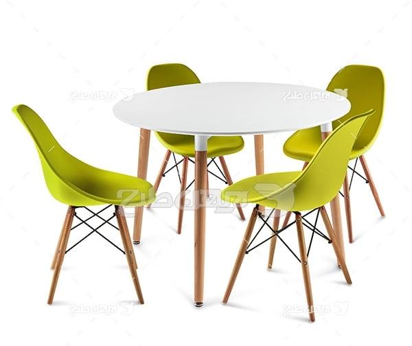 عکس میز و صندلی
