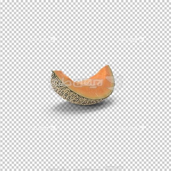تصویر دوربری سه بعدی خربزه