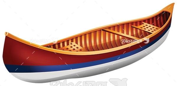وکتور قایق