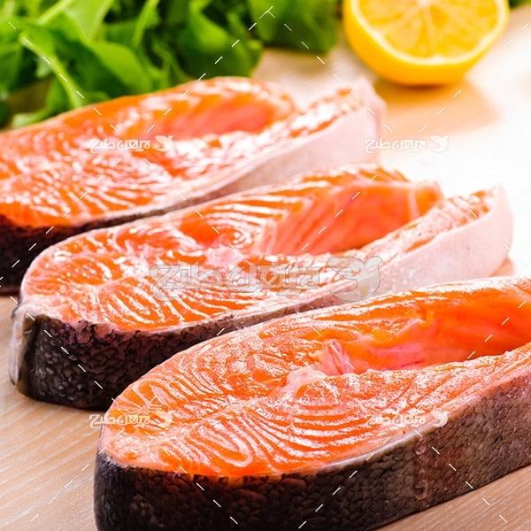 عکش گوشت ماهی