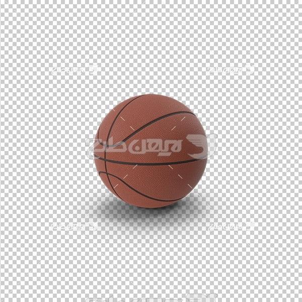 تصویر دوربری سه بعدی توپ بسکتبال