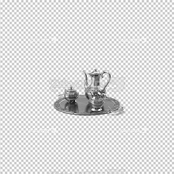 تصویردوربری سه بعدی ظروف نوشیدنی
