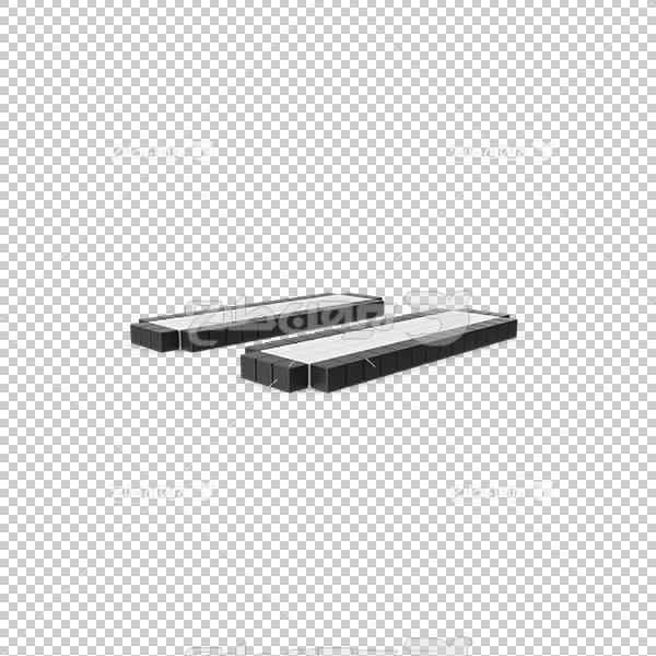 تصویر سه بعدی دوربری دکمه مکث