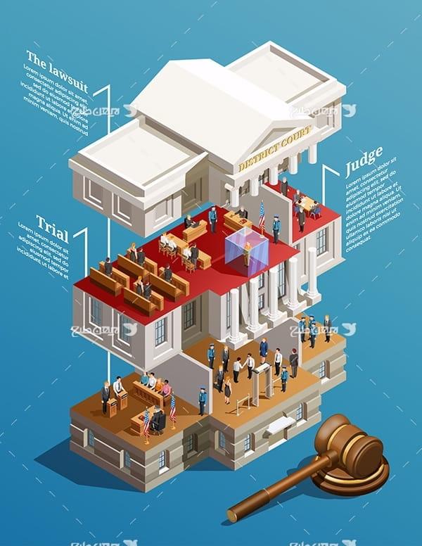 طرح وکتور سه بعدی خانه
