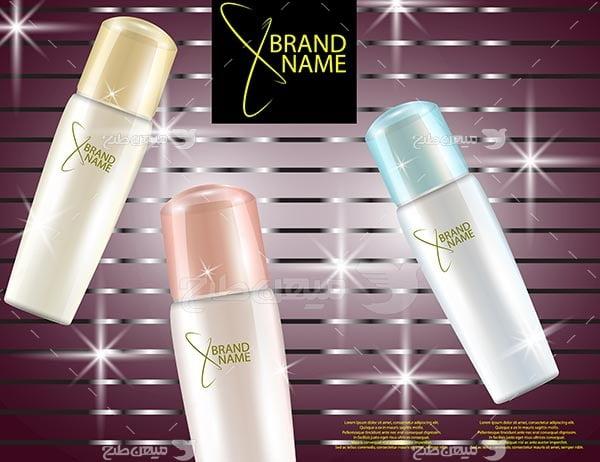 وکتور محصولات آرایشی