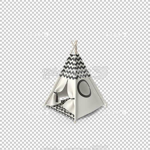 تصویر سه بعدی دوربری خیمه