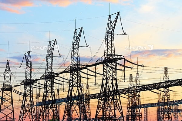 تصویر دکل های انتقال برق