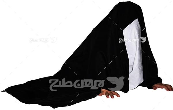 عکس حضرت زینب در تعزیه