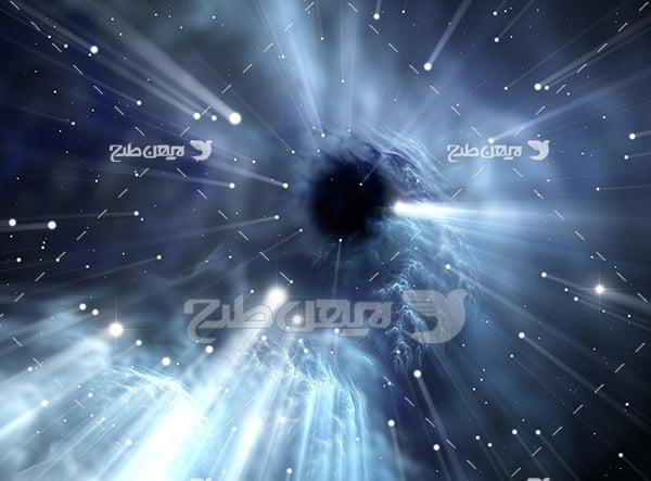عکس فضا و ستاره ها و سیارات