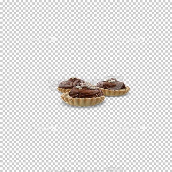 تصویر دوربری سه بعدی کاپ کیک