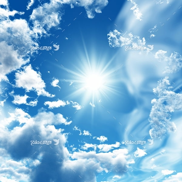 تصویر آسمان و ابر