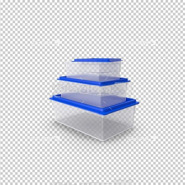 تصویر دوربری ظروف پلاستیکی