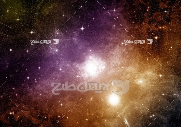 عکس ستاره ها و سیارات