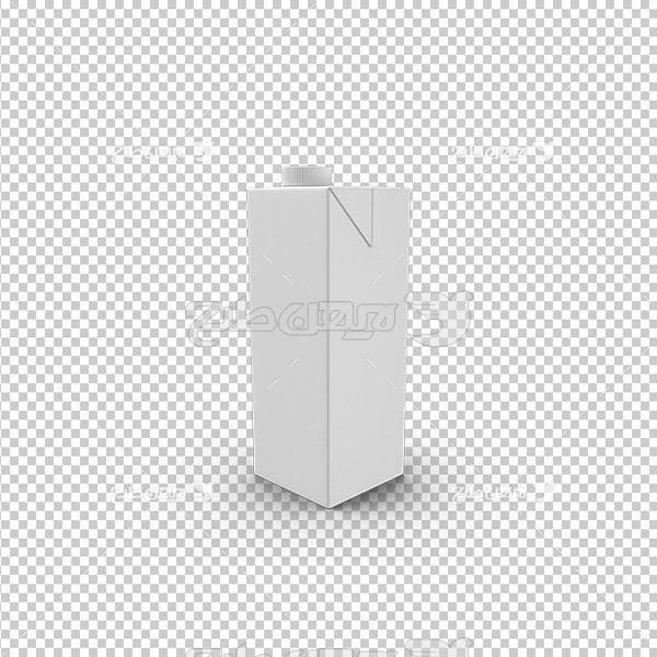 تصویر دوربری سه بعدی شیر