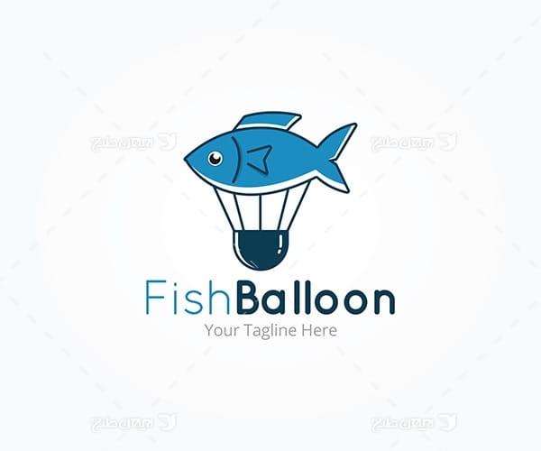 لوگو ماهی و بالون