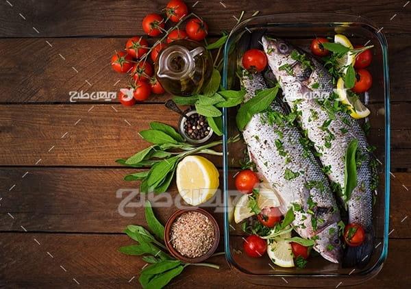 عکس ماهی تزئین شده