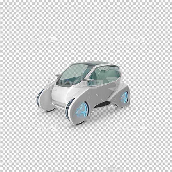 تصویر دوربری سه بعدی ماشین