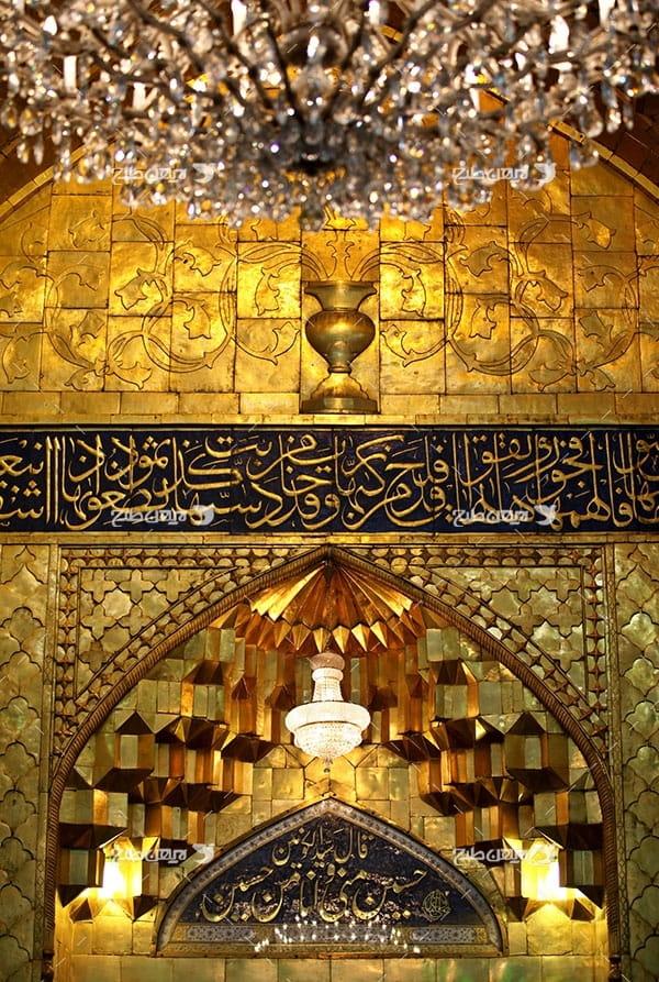 تصویر با کیفیت از ضریح امام حسین علیه السلام