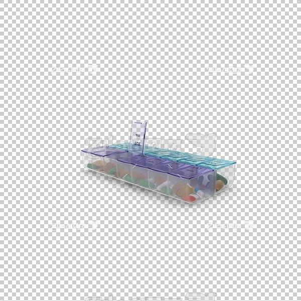 تصویر سه بعدی دوربری ظرف آبنبات