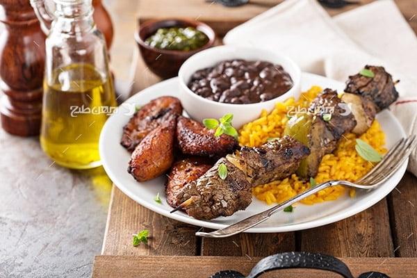 تصویر غذا،گوشت،کباب