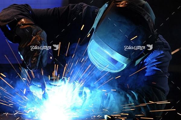 تصویر صنعتی از جوشکاری