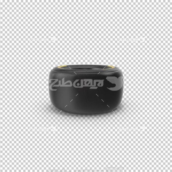 تصویر دوربری سه بعدی لاستیک